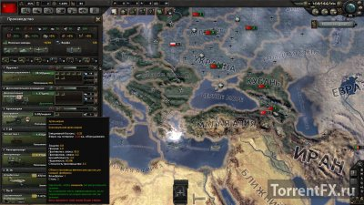Hearts of Iron IV: Field Marshal Edition [v 1.4.0 + DLC's] (2016) RePack от xatab
