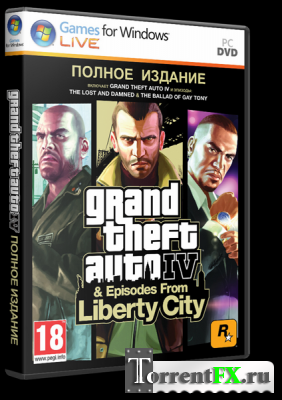 GTA 4 / Grand Theft Auto IV - Complete (2010) PC | RePack
