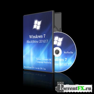 Windows 7 Ultimate (x86) BlackShine