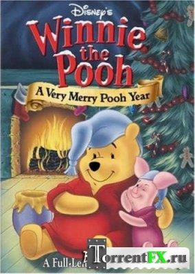 Винни Пух: Рождественский Пух / Winnie the Pooh: A Very Merry Pooh Year (2002) DVDRip