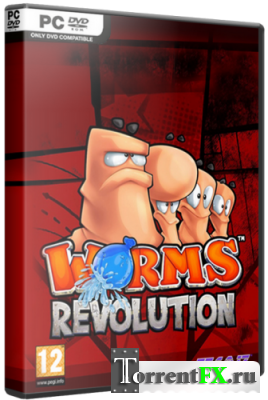 Worms Revolution - Deluxe Edition [v 1.0.103 + 4 DLC] (2012) PC