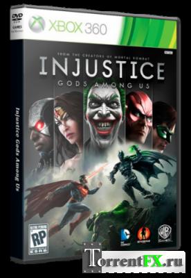 Injustice: Gods Among Us (2013/Ru) XBOX360 [LT+3.0]