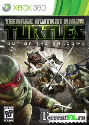 Teenage Mutant Ninja Turtles: Out of the Shadows (2013/ENG) Xbox 360 [LT+3.0]