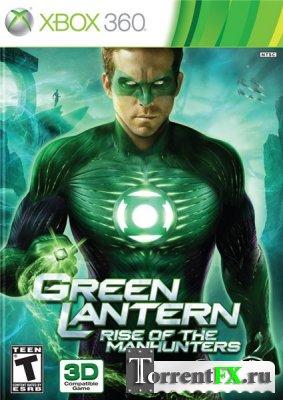 Green Lantern: Rise Of The Manhunters (2011) XBOX 360