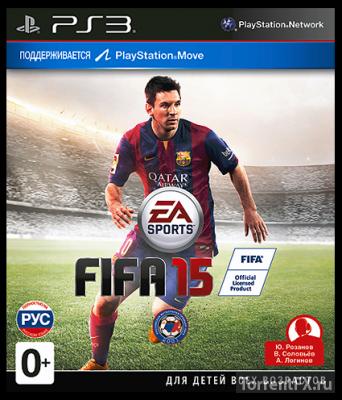 FIFA 15 (2014 / Русская) PS3 | RePack [CFW 4.21 - 4.65]