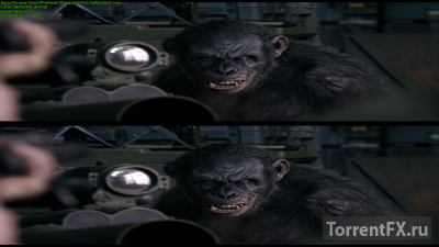 Планета обезьян: Революция (2014) BDRip 1080p | 3D-Video