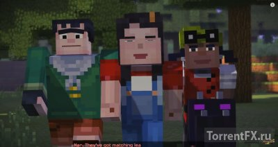 Minecraft Story Mode Episode 1 (2015) Xbox360 [FreeBoot]