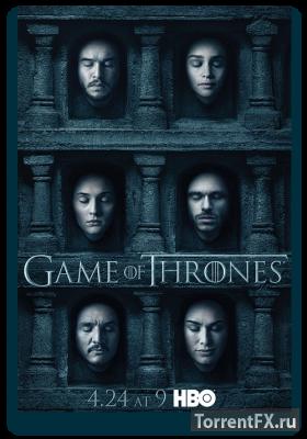Игра престолов 6 сезон 1 серия (2016) HDTVRip 720p
