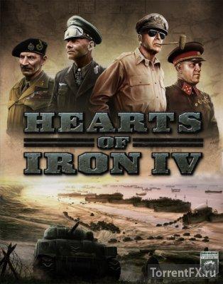 Hearts of Iron IV: Field Marshal Edition [v 1.4.0 + DLC's] (2016) RePack от xatab